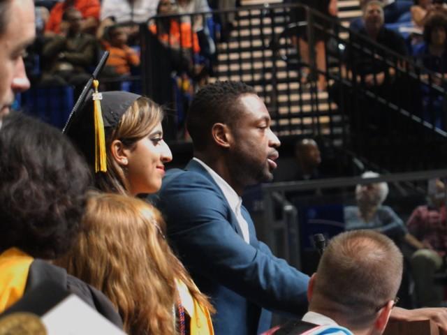 Dwyane Wade Surprises HS Grads!